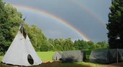 Táborová základna  Hrbov u Netolic