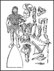 Rytíř a jeho zbroj A4