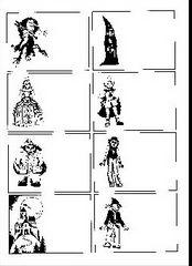 Pohádkové postavy 1.