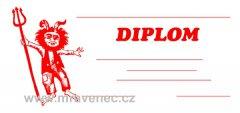 Diplom 1/3 A4 - Čert