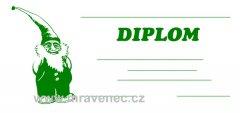 Diplom 1/3 A4 - Trpaslík