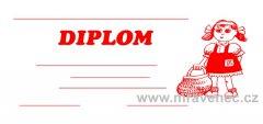 Diplom 1/3 A4 - Karkulka