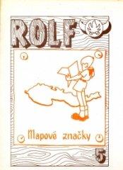 Rolf 5. - Mapové značky I.