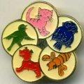Odznak zvířátka
