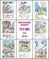 10x Sada barevných pohlednic (8 ks)