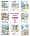 Sada barevných pohlednic (8 ks)